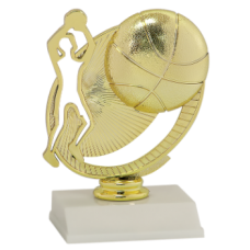 Silhouette Basketball Trophy